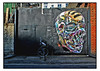 STREET ART by FANAKAPAN (StockCarPete) Tags: fanakapan streetart skull londonstreetart urbanart graffiti londongraffiti bike gates london uk freeart londonart spraycanart