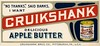 Cruikshank Apple Butter Blotter, Pittsburgh, Pa. (Alan Mays) Tags: ephemera inkblotters advertisingblotters blotters advertising advertisements ads paper printed cruikshank cruikshankdeliciousapplebutter cruikshankapplebutter applebutter cruikshankbrosco cruikshankbros cubroapplebutter cubro cans companies nothanks banks slogans logos illustrations borders diagonal red blue yellow pittsburgh pa alleghenycounty pennsylvania antique old vintage typefaces type typography fonts hgamse hgamsebro gamse gamselithographingcompany lithographers printers baltimore md maryland dropshadow