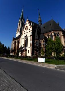 Kościół pw.św.Antoniego.Pieszyce.