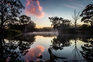 Early morning over Duck Lagoon
