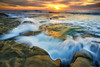 La Jolla Sunset: 11/14/17 (tltichy) Tags: lajolla blue coast cove longexposure ocean orange pacific reef rocks rocky sandiego sandstone sea seascape sunset tidepools