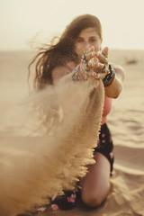 dubai desert by Julia Trotti - In the Dubai desert