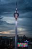 (Alan Holden) Tags: kualalumpur malaysia tower sunset menara