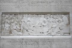 Le Mur des réformateurs (Genève, Suisse) (dalbera) Tags: murdelaréformation suisse genève dalbera paullandowski murdesréformateurs basrelief mayflower