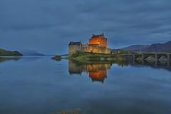 The Highlander (Eilean Donan Castle, Scotland,  United Kingdom) (AndreaPucci) Tags: highlander castle scotland uk eileandonan loch lake island andreapucci scottish icon