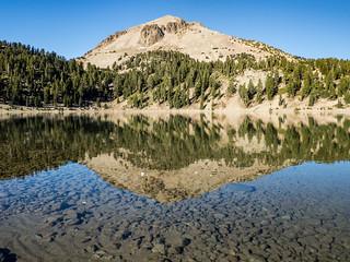 Lassen Peak from Lake Helen