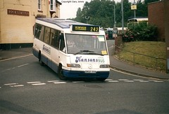 G802 OVA Mercedes/ Optare Starider (onthebeast) Tags: mercedes optare starider stourbridge g802 ova bus station hansons