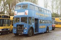 img462  963 CUF Norths Sherburn 9-10-93 (marktriumphman) Tags: leyland pd nc southdown fareway north scrapyard