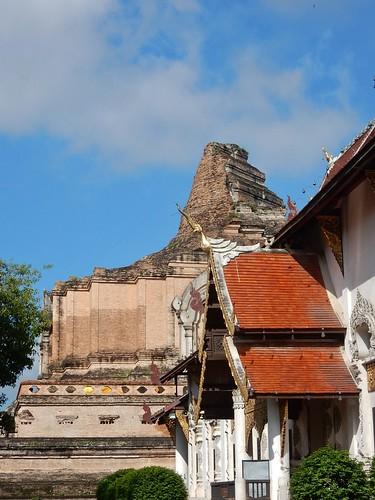 Crumbling Stupa