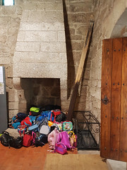 """The cool safety lockers at the Braganza Palace ;) (ShambLady) Tags: safety locker open fire place back pack backpack secure safe 2017 portugal cradle monte latito afonso guimarães bragança braganza history historical 260717 moors medieval """"טִירָה """" kasteel castle castelo castillo замък kale """"城堡""""slot kastilyo château κάστρο kastil castello castel замок guimaraes"""