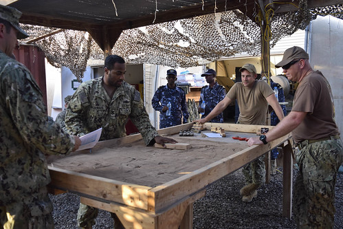 CRS 1 SAILORS TRAIN WITH DJIBOUTIAN NAVY