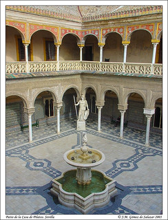 Patio de la Casa de Pilatos. Sevilla. España