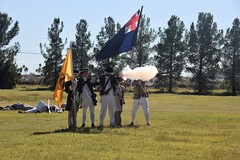 (ONE/MILLION) Tags: wemakehistory school days education flags uniforms people crowds salute weapons battle battlefield military war williestark onemillion reenactment tents toys books props men women young old wwi wwii civilwar soldiers civilians children costumes medical nurses music instruments instructions portrayals colonial victorian infantry militia north south dance schnepf farms queen creek arizona we make history american heritage festival events fb facebook flickr