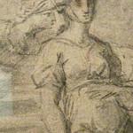 POUSSIN Nicolas (Attribué) - Eliezer et Rebecca (drawing, dessin, disegno-Pontoise) - Detail 22 thumbnail