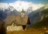 Chapelle (maxguitare1) Tags: chapelle chapel capilla cappella montagne mountain montagna montaña neige nieve neve snow filtre filtered filtro