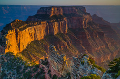 Afternoon Light on Wotan's Throne (RichGreenePhotography.com) Tags: grandcanyon northrim wotansthrone goldenhour arizona nps nationalparkservice travel usa