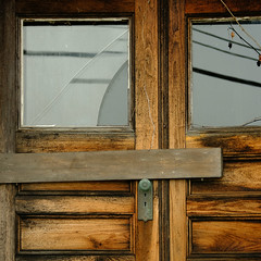Farmhouse Door (jtr27) Tags: dscf4321l jtr27 fuji fujifilm fujinon xf 50mm f2 f20 wr rwr farmhouse door lancaster newhampshire nh newengland weathered wood