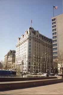 Washington DC - Willard Inter Continental Washington - Historic Hotel