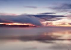Lever du jour brumeux de septembre (gaudreaultnormand) Tags: abstrait leverdesoleil longexposure longueexposition quebec saguenay sunrise ciel eau flou canada