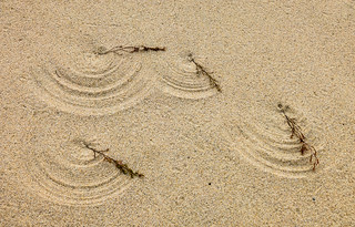 sand and wind abstraction