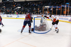 "Kansas City Mavericks vs. Kalamazoo Wings, November 29, 2017, Silverstein Eye Centers Arena, Independence, Missouri.  Photo: © John Howe / Howe Creative Photography, all rights reserved 2017 • <a style=""font-size:0.8em;"" href=""http://www.flickr.com/photos/134016632@N02/38713478612/"" target=""_blank"">View on Flickr</a>"