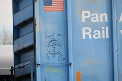 Rigby (caboose_rodeo) Tags: 2120 hobo chalk markings rigbyyardsouthportlandmaine compass panamrailway mainecentral mec guilford favorite