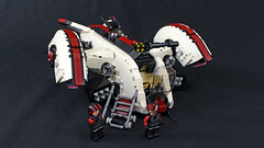Anglerfish Gunship (2:STUDS) Tags: lego moc scifi space military gunship havercraft starfighter futuristic ldd