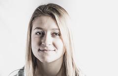 Studio Lighting Demo, Photo II (Patrick.Burns) Tags: headshot portrait blonde teenager teen bright studio softbox octobox female