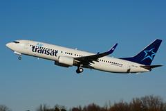 OK-TVF (Air Transat) (Steelhead 2010) Tags: airtransat travelservice yhm okreg okyvf boeing b737 b737800