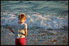 16th of August 2017 (Paul of Congleton) Tags: diary august 2017 rebecca becky child childhood holiday falésia algarve portugal praia beach sea waves evening digital sony rx100