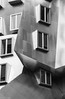 MIT  Stata Center Frank Gehry Design (Dean OM) Tags: mit architecture gehry blackandwhite black white bw abstract window olympus om 85mm