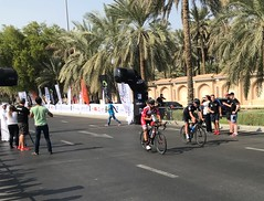 Finishers in Abu Dhabi to Al Ain Race UAE 🇦🇪 (186 KM's) 3 Dec 2017 (Patrissimo2017) Tags: cycling
