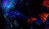 DSC07653 (Dominus lux) Tags: bodypainting körperbemalung kunstwerk halloween monster universum reisverschluss skelett knochen uv licht neonlicht neon leuchten uvlicht