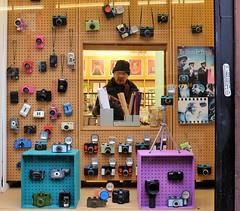 lomo cameras (LozHudson) Tags: manchester fujifilm fujix100s x100s lomo lomography shop toycamera