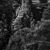 Day Seven (Orange Orb Photography) Tags: view trees lookingdown blackandwhite cascade bridalveil australia waterfall leura bluemountains highup lookout nsw
