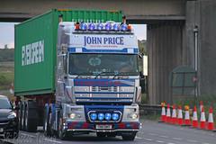 DAF XF John Price Telford T80 SMT (SR Photos Torksey) Tags: transport truck haulage hgv lorry lgv logistics road commercial vehicle freight traffic daf xf john price