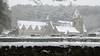 A little bit of snow (paul_p!) Tags: snow northwales prestatyn denbigh pantasaph a55 holy rhuddlancastle