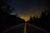Starlit Highway (phonnick) Tags: stars night sky nightsky mountain trees longexposure adirondacks lakeplacid canon6d canon 6d rokinon astrophotography nightscape landscape whitefacemountain whiteface road highway newmoon