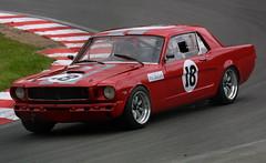 Chris Chiles - Classic Racing Cars Ltd - Ford Mustang (Boris1964) Tags: 2005 heritagegrandtourers brandshatch