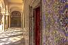 True Colours (StevePilbrow) Tags: tiles colour colourful palace seville old arab arabic mosaic walkway hall architecture spain andalusia costa de la luz nikon d7200 nikkor 18105mm june 2017