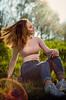 Linda (sarahjeremy) Tags: girl hairflip colorful nature outdoors green outdoor hair sun tree beautiful pretty pose model nikon nikond7000 50mm