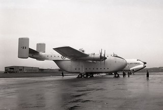 XH120. Royal Air Force Blackburn Beverley C.1