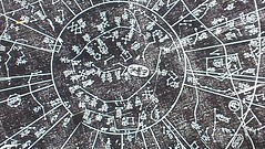 #National palace museum of  Korea #Korea star map #chart of the constellations and the regions they govern (hanyoungkim1) Tags: korea national chart starmap