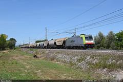 Captrain E483.309 (Marco Stellini) Tags: captrain italia e483 traxx bombardier sam michele al tagliamento