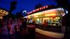 Enchanted Hour (johntomaiphotography.com) Tags: neonlights enchanted hour eveninglight sundown amusementpark lightsatnight people summertime summernights knoebels fuji xe1 johntomai