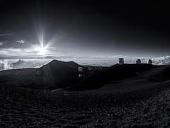 Mauna Kea Observatory at sunset (Alexander Prikhodko) Tags: maunakea observatory hawaii