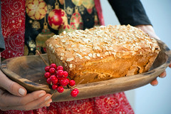 Holiday Baking (MrPuffy) Tags: baking sourdough bread holidaybaking apron