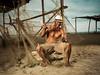 Don Olivo (Juan Ortiz Fotografia) Tags: portrait retrato pescador fisherman playa beach mar sea ecuador manabi hombre trabajando working man artesano profesional smile sonrisa latinoamerica americadelsur suramerica oceano pacifico arena