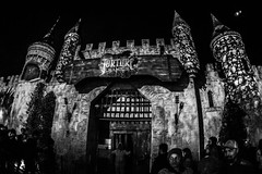 FrightFest_030 (allen ramlow) Tags: fright fest san antonio six flags halloween bw black white horror sony a6500