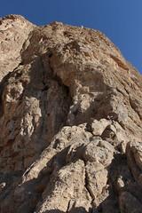 Vue sur le départ de la voie Oghabha (fuchs.ludovic) Tags: escalade montagne falaise rocher iran